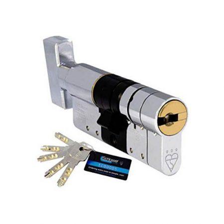High Security cylinder  Thumbturn or Key