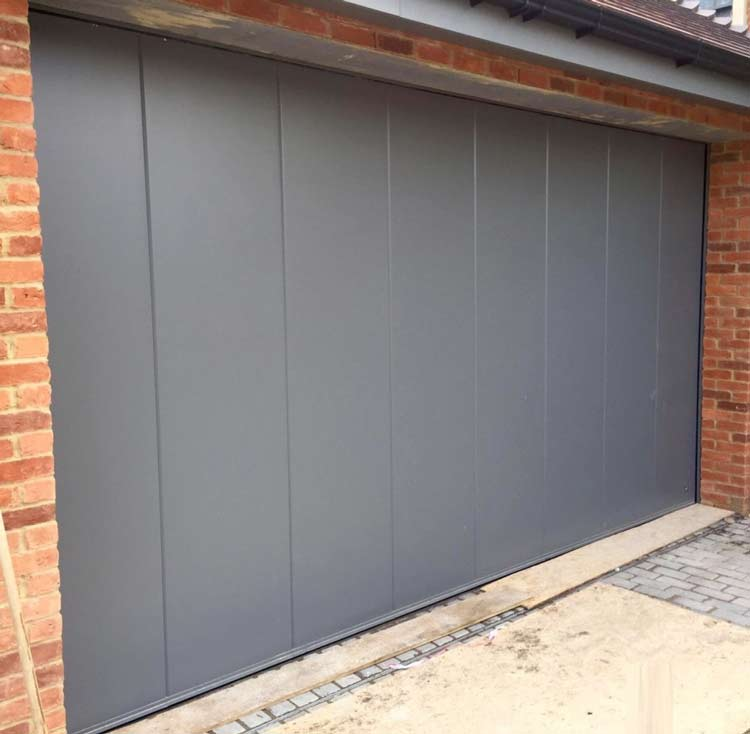 Ryterna-Side-Sliding-Garage-door-RAL-7005-Mouse-Grey